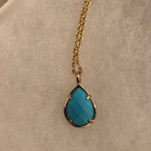 Kendra Scott drop necklace